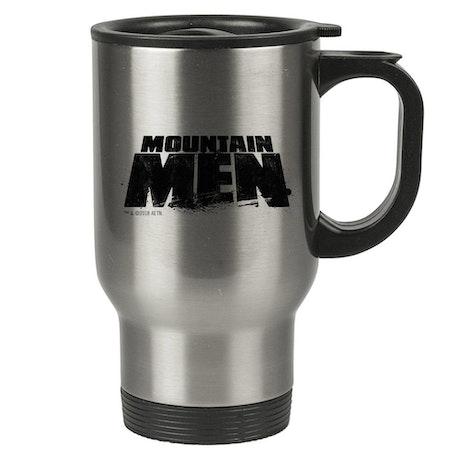 Mountain Men Stainless Steel Travel Mug