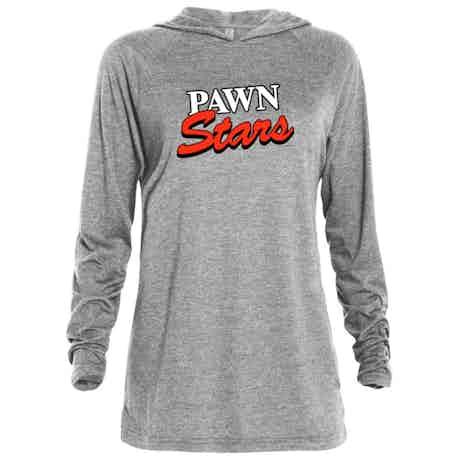 Pawn Stars Logo Tri-blend Raglan Hoodie