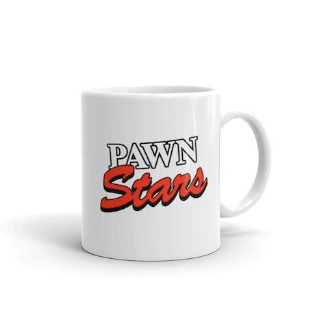 Pawn Stars Logo White Mug