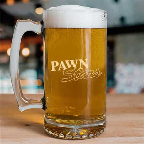 Pawn Stars 25oz Beer Glass