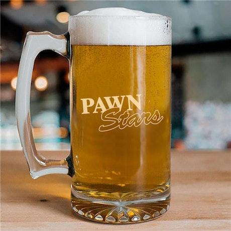 Pawn Stars 25oz Beer Glass