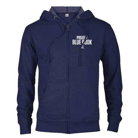 Project Blue Book Lightweight Zip Up Sweatshirt