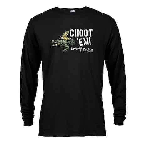 "Swamp People ""Choot 'Em!"" Long Sleeve T-Shirt"
