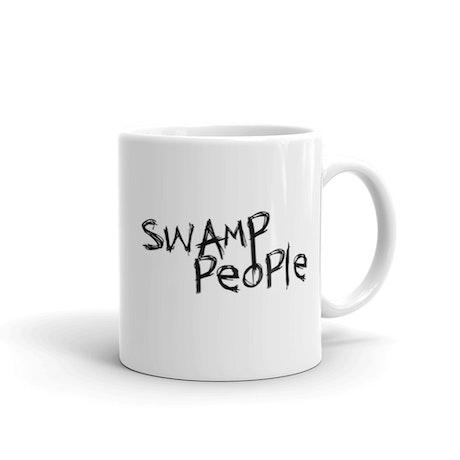 Swamp People Logo White Mug
