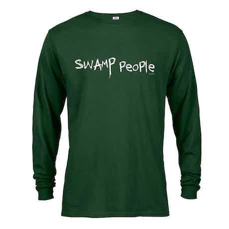 Swamp People Logo Long Sleeve T-Shirt