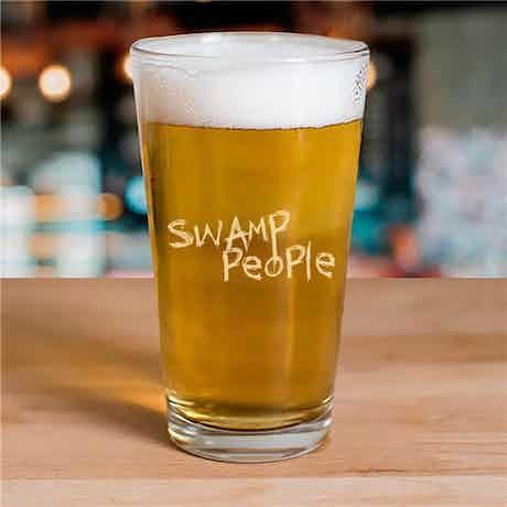 Swamp People Logo 16 oz Pint Glass