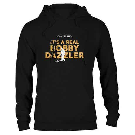 The Curse of Oak Island It's Real Bobby Dazzler Hooded Sweatshirt