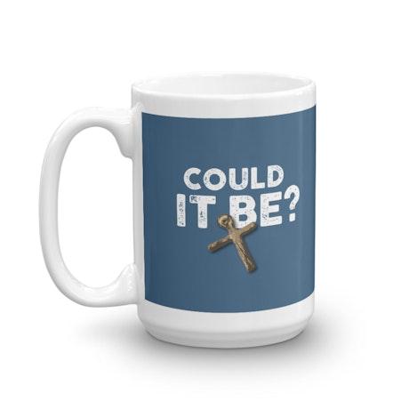 The Curse of Oak Island Could it Be? White Mug