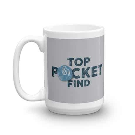 The Curse of Oak Island Top Pocket Find White Mug