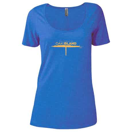The Curse of Oak Island Women's Relaxed Scoop Neck T-Shirt