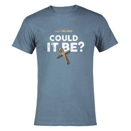 The Curse of Oak Island Could it Be? Men's Short Sleeve T-Shirt