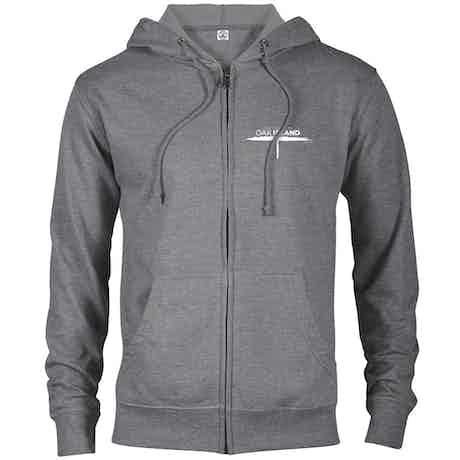 The Curse of Oak Island Lightweight Zip Up Hooded Sweatshirt