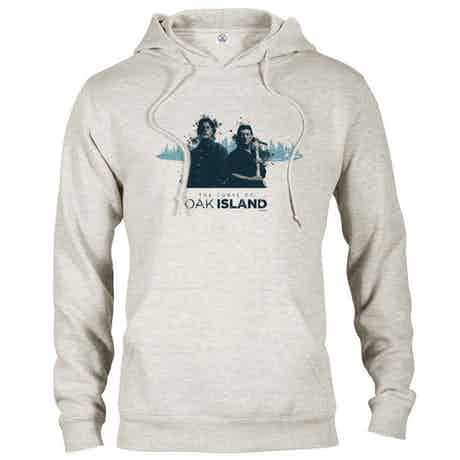 The Curse of Oak Island Rick and Marty Hooded Sweatshirt