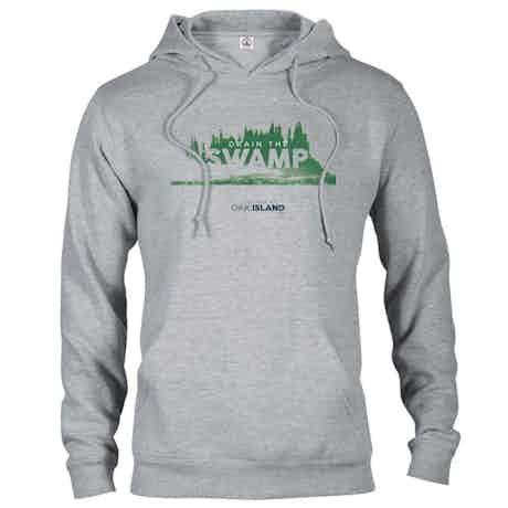 The Curse of Oak Island Drain the Swamp Hooded Sweatshirt