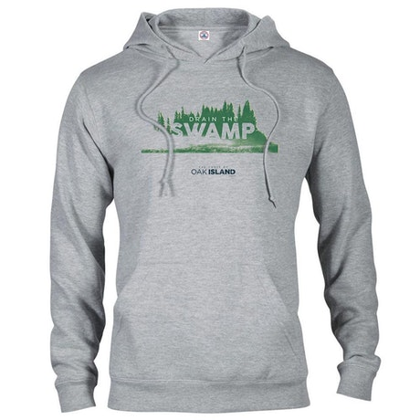 The Curse of Oak Island Drain the Swamp Hooded Sweatshirt