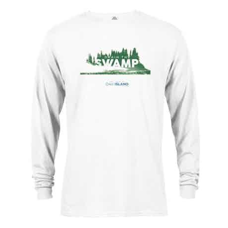 The Curse of Oak Island Drain the Swamp Long Sleeve T-Shirt