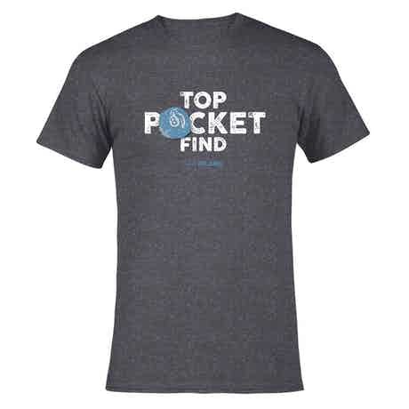The Curse of Oak Island Top Pocket Find Men's Short Sleeve T-Shirt