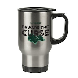 The Curse of Oak Island Beware the Curse Stainless Steel Travel Mug