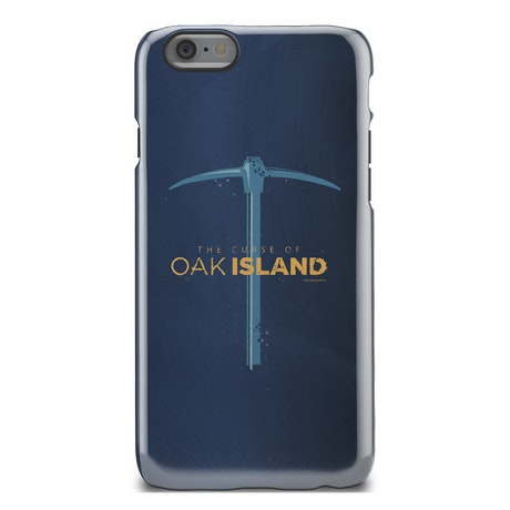 The Curse of Oak Island Pickaxe Tough Phone Case