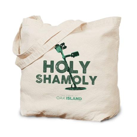 The Curse of Oak Island Holy Shamoly Canvas Tote Bag