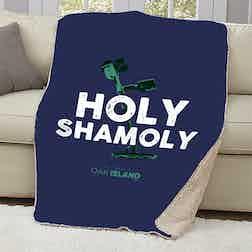 The Curse of Oak Island Holy Shamoly Sherpa Blanket