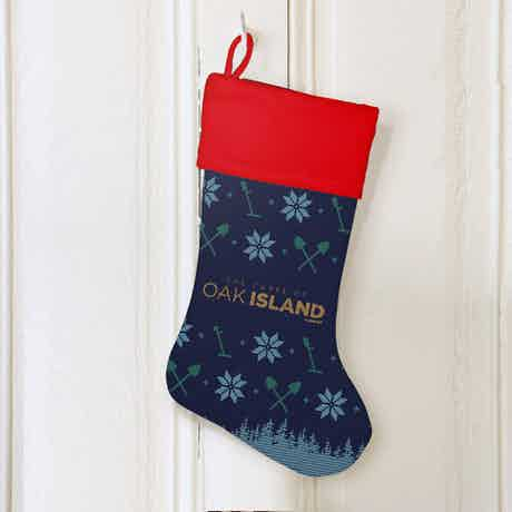 The Curse of Oak Island Holiday Stocking