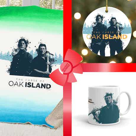 The Curse of Oak Island Rick & Marty Gift Wrapped Bundle