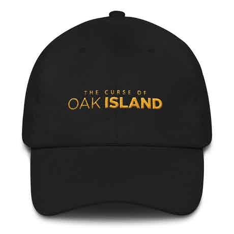 The Curse of Oak Island Embroidered Hat