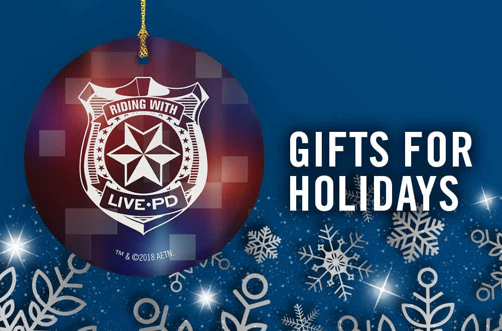 Live PD Gift Guide Ornament Banner