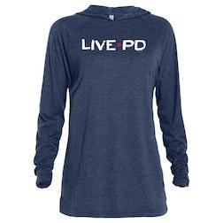 Live PD Logo Tri-blend Raglan Hoodie