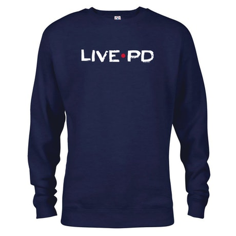 Live PD Logo Crew Neck Sweatshirt
