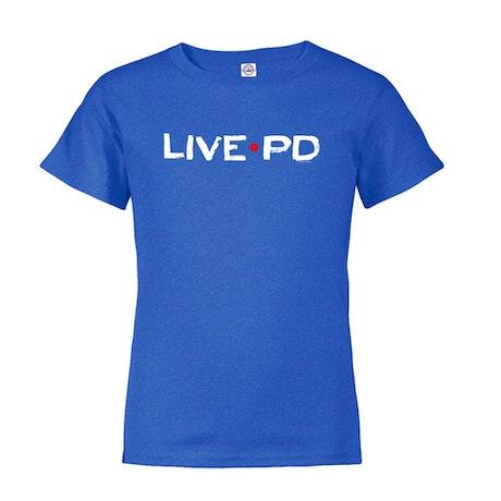 Live PD Logo Toddler Short Sleeve T-Shirt