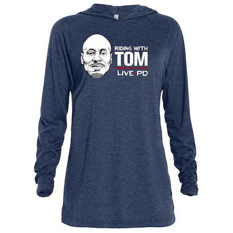 Live PD Riding with Tom Tri-blend Raglan Hoodie