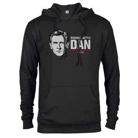 Live PD Riding with Dan Hooded Sweatshirt
