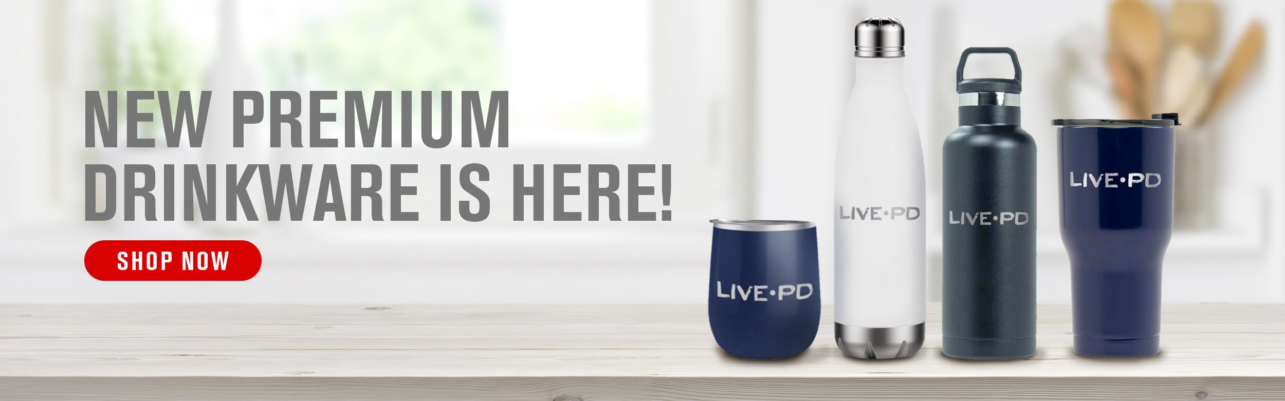 LIVE PD Drinkware