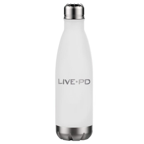Live PD 17 oz Stainless Steel Slim Water Bottle