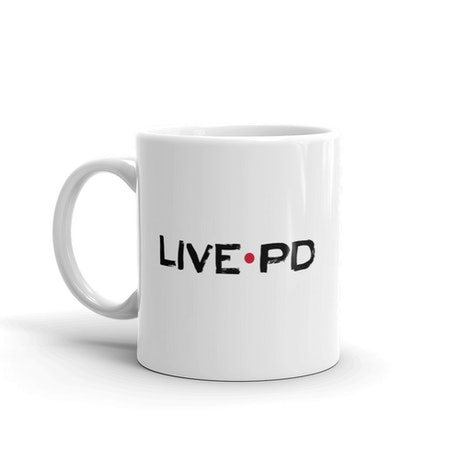 Live PD Logo White Mug