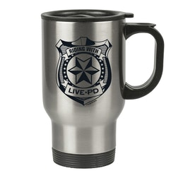 Live PD Badge Travel Mug