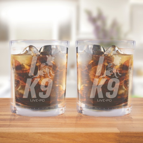 Live PD K9 Short Glasses - Set of 2