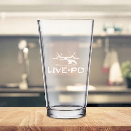 Live PD Tall Glass