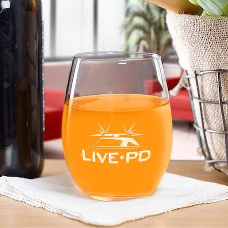 Live PD Stemless Glass
