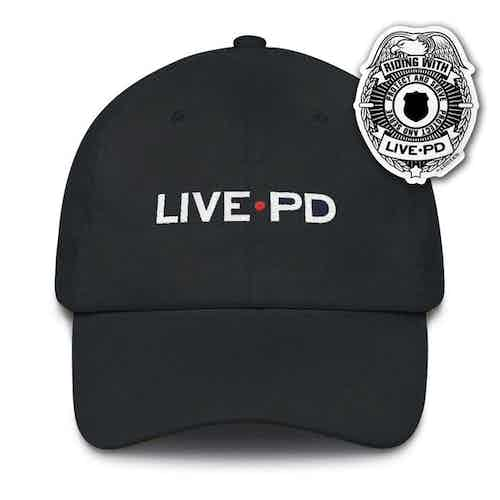 Live PD Embroidered Hat