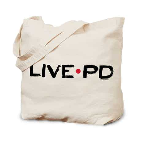 Live PD Logo Canvas Tote Bag