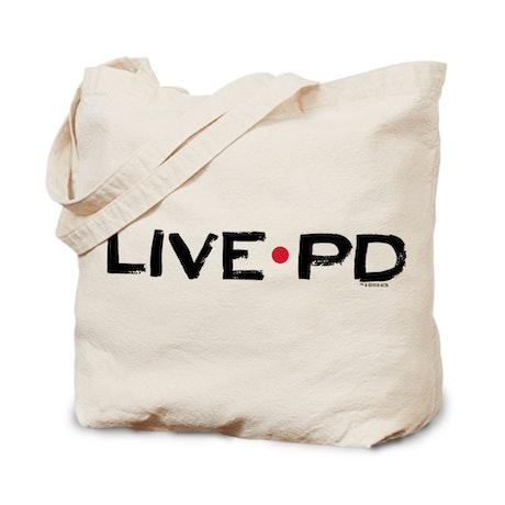 Live PD Logo Canvas Tote Bag