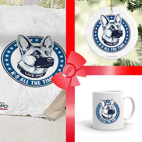 Live PD K9 Gift Wrapped Bundle