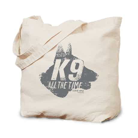 Live PD K-9 Canvas Tote Bag