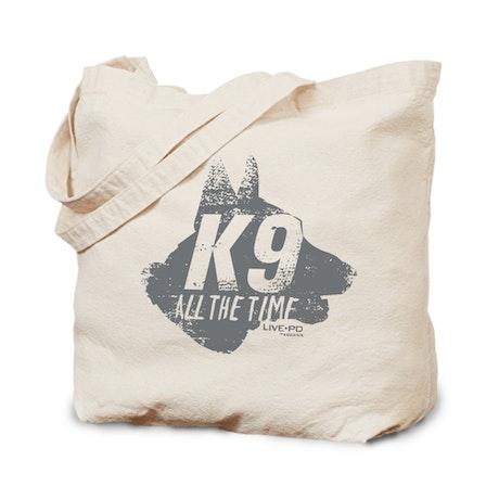 Live PD K-9 Canvas Tote Bag