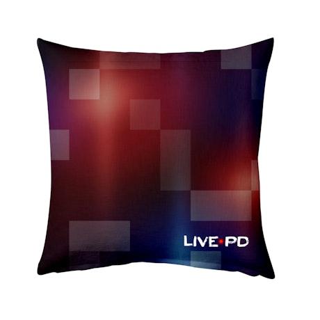 "Live PD Logo Pillow - 16"" X 16"""