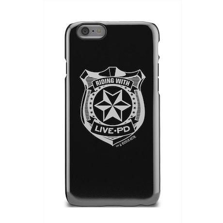Live PD Badge Tough Phone Case