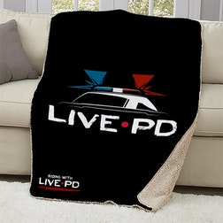 Live PD Sherpa Blanket